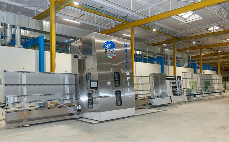 Der Start des Aufbaus der Produktionsanlagen lag zu Beginn des Jahres, inzwischen ist er abgeschlossen. Foto: AGC Glass Europe