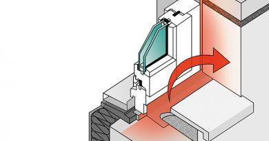 Die für den inneren Anschluss konzipierten Hanno-Folienbänder FI Easy+ und Duo Easy+ weisen eine Luftdichte von an ≤ 0,1 m³/(h∙m∙(daPa)2/3) auf und erfüllen zudem die Luftdichtheits-Anforderungen des Passivhauszertifikats. Foto: Hanno Werk GmbH & Co. KG