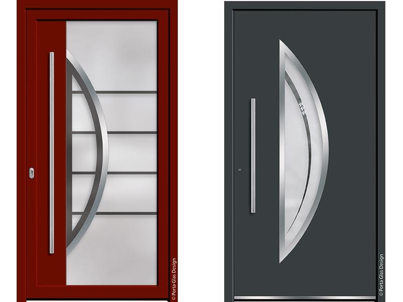 Bei Porta Glas Design entstehen Glaselemente für Premium-Haustüren.