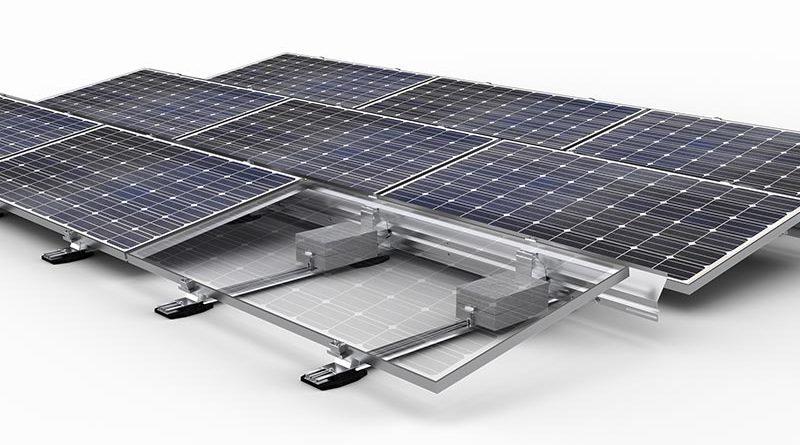 Vormontierbare PV-Montagesysteme für Flachdächer