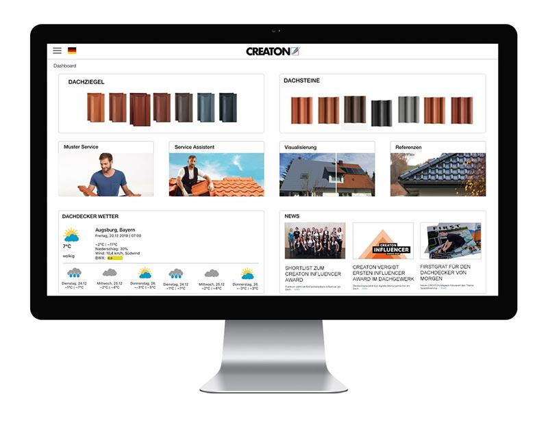 Mit dem Visualisierungsservice von Creaton lässt sich visuell im Handumdrehen das alte Dach durch ein neues ersetzen. Foto: Creaton GmbH