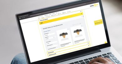 Das übersichtliche Sita BIM Portal: Alle erforderlichen Produktinfos auf einen Blick. Und bei Fragen der direkte Link zum Sita Profi Chat.