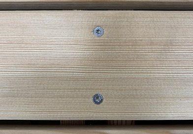 Die Holzschraube TeFix eignet sich für den Fassadenbau. Foto: Sihga