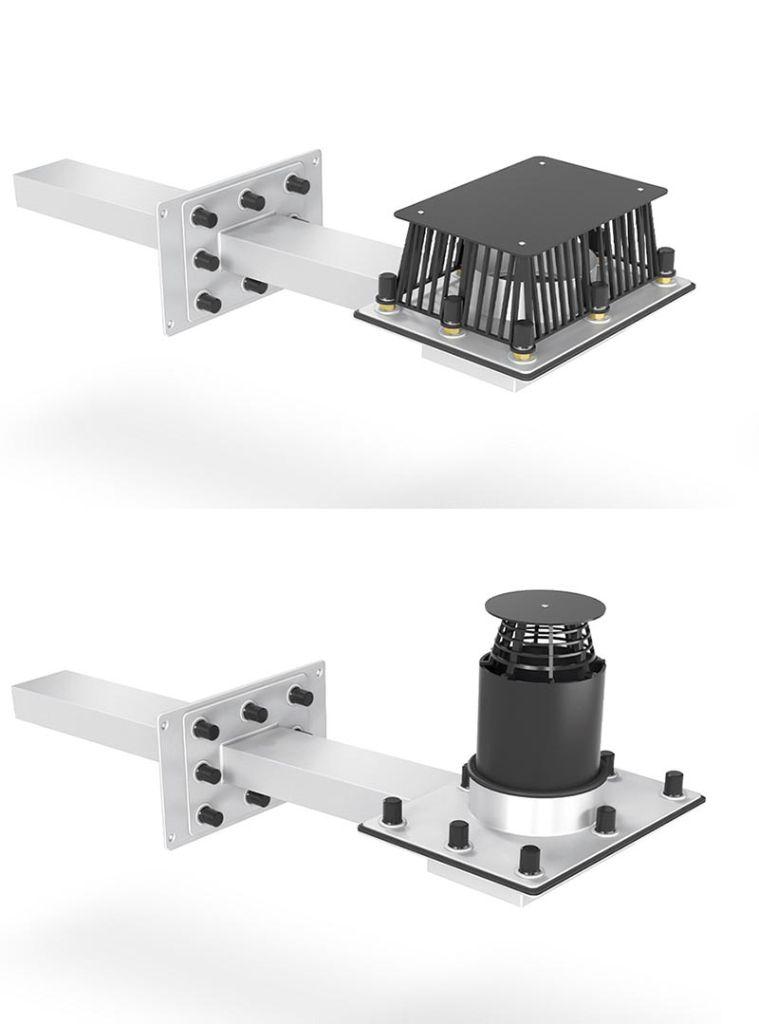 Stahlhart im Nehmen: Mit Losflansch oder mit zusätzlichem Anstauring für besonders hohe Stauhöhen, beide Versionen mit Regenabdeckplatte.