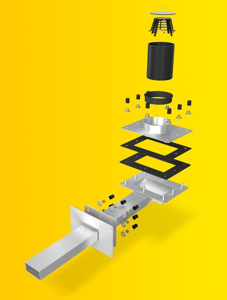 SitaTurbo Max für das Umkehrdach: Unzählige Möglichkeiten und eine individuelle Fertigung auf Bestellung.