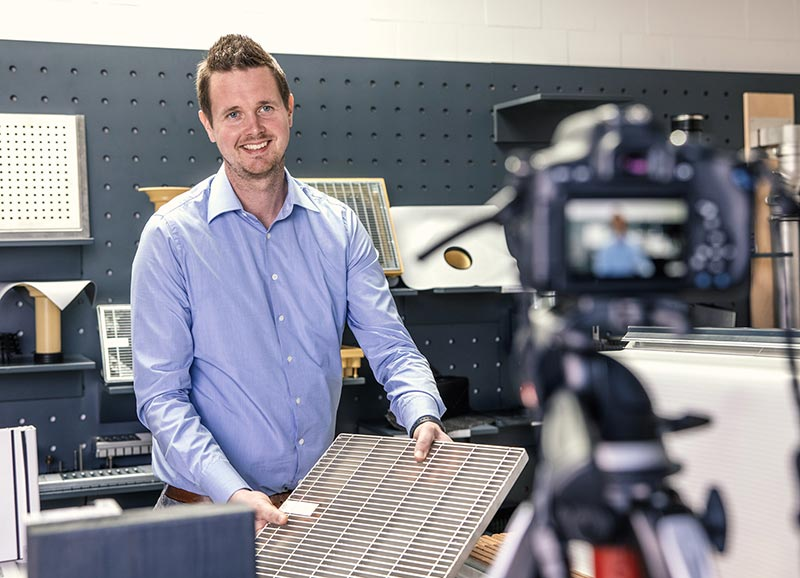 Experte live: Dominic Kortenbusch aus der Sita Anwendungstechnik